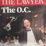 Ray Berg on the cover of The Lawyer